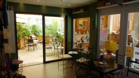 Le petit cormier salon de th for Le petit salon villereal